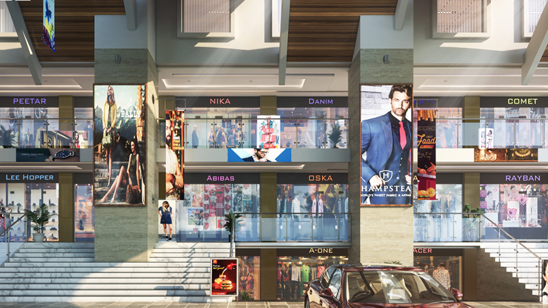 showroom for sale in zirakpur ambala road